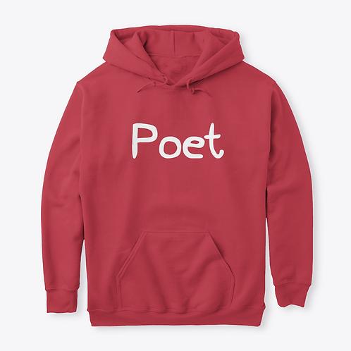 Realistic Poetry Poet Custom Hoodie