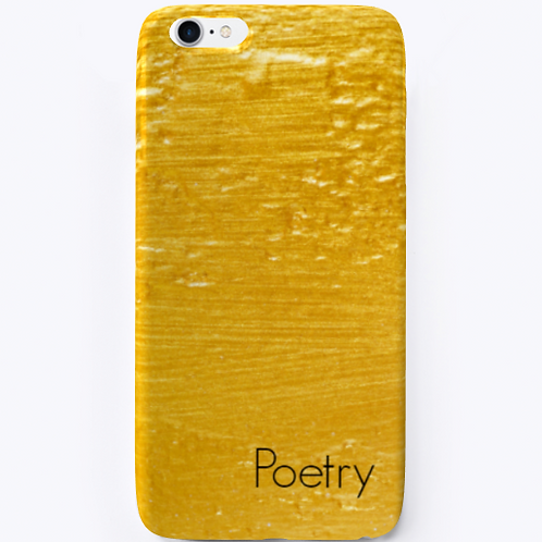 Gold iPhone Case by Realistic Poetry International