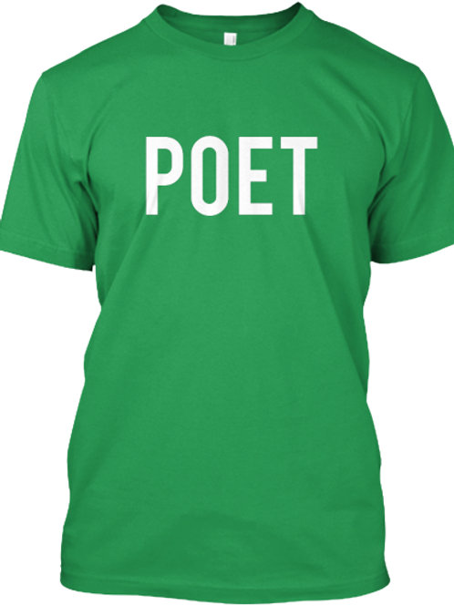 Poet Tee by Realistic Poetry International