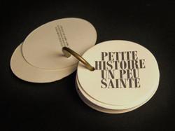 ROBERT FILLIOU, Petite histoire...