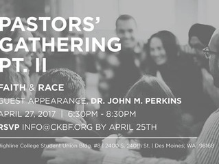 Pastor's Gathering II - Faith and Race