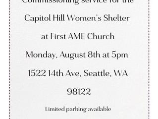 CHWS Prayer & Commissioning Service