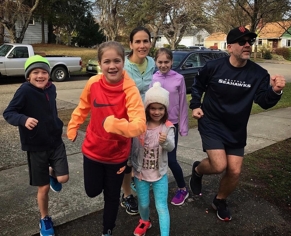 Annual Ryan Family New Year's Run