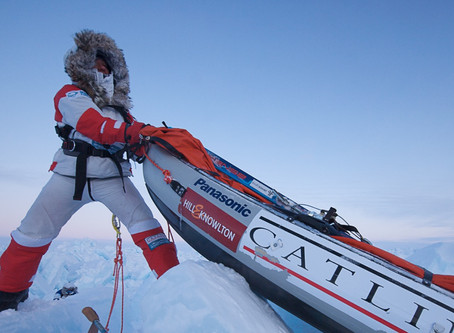 What we can learn about life in lockdown from a polar explorer