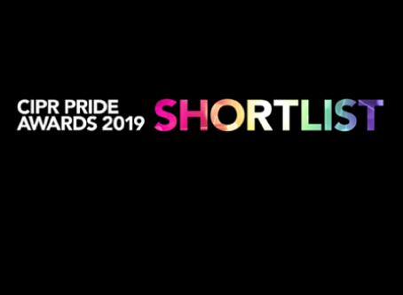 We've been shortlisted!