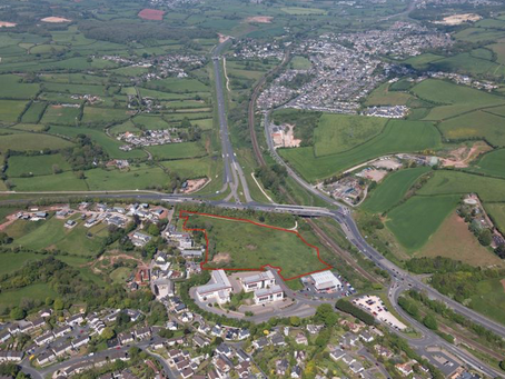 Devon business park opens up for huge leisure and industrial development