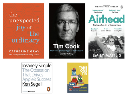 Six recommended reads (or listens) while we're locked down