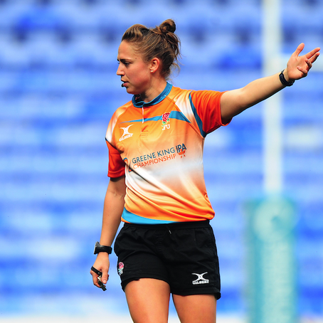 Rugby referee Sara Cox on finding pockets of happiness in lockdown & why it's okay to have off days