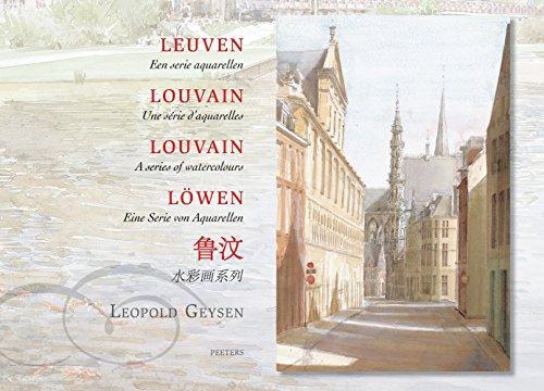 Leuven - een serie aquarellen