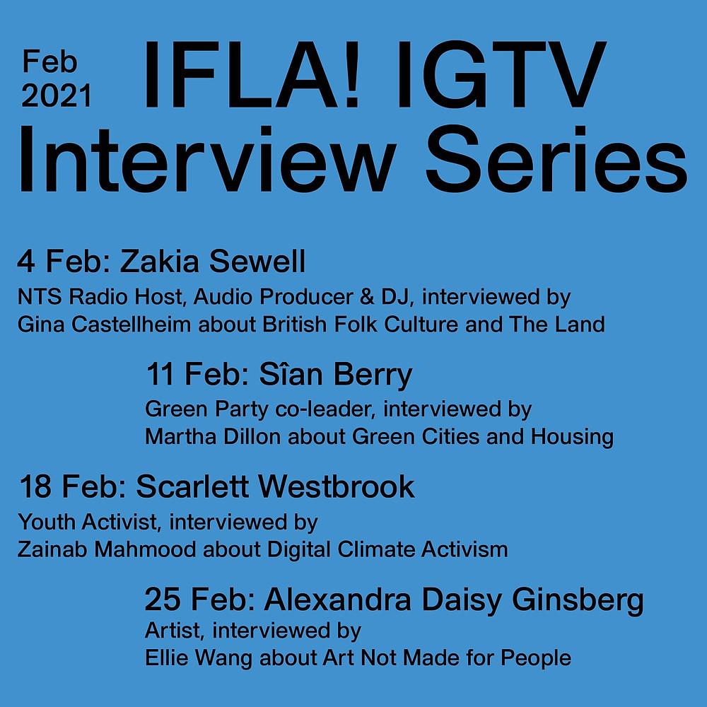 IFLA IGTV SERIES IMAGE _ DESCRIPTION IN TEXT BELOW