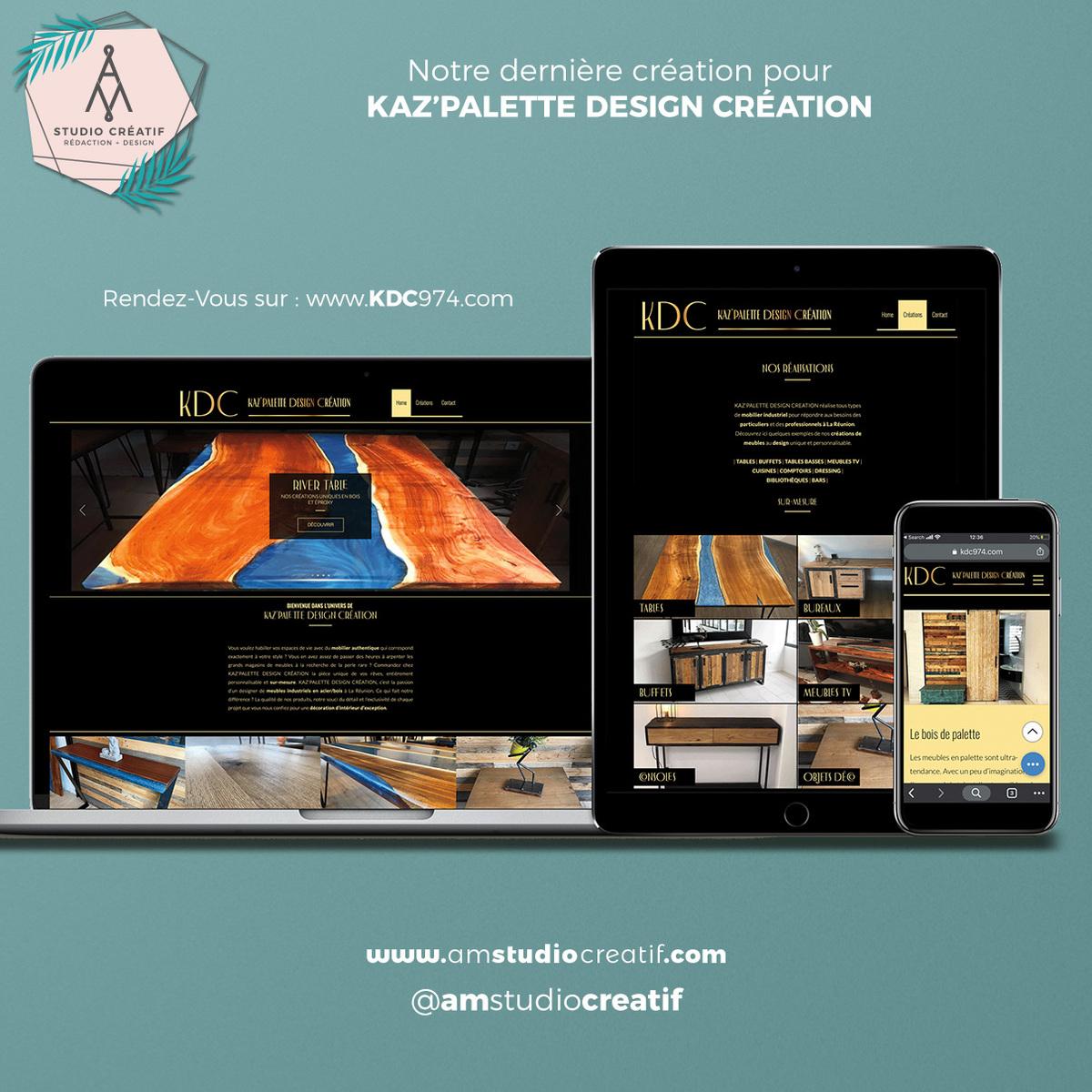 A+M : Création de site web