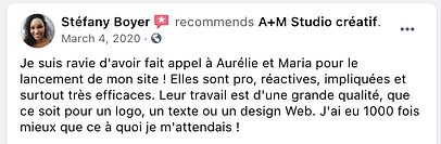 Testimonial from Stefany Boyer Recommends AM in French.png