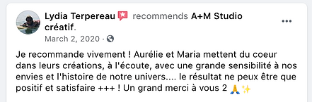 Testimonial from Lydia Terpereau Recommends AM in French.png