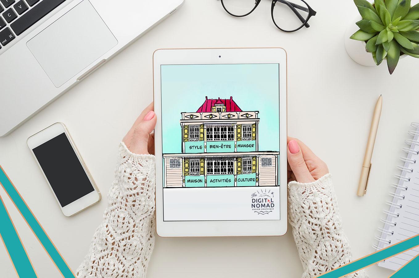 A+M : Design Digital d'Illustration