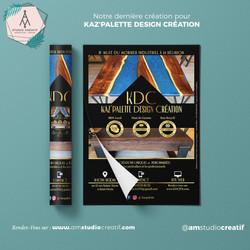 A+M : Conception de flyer commercial