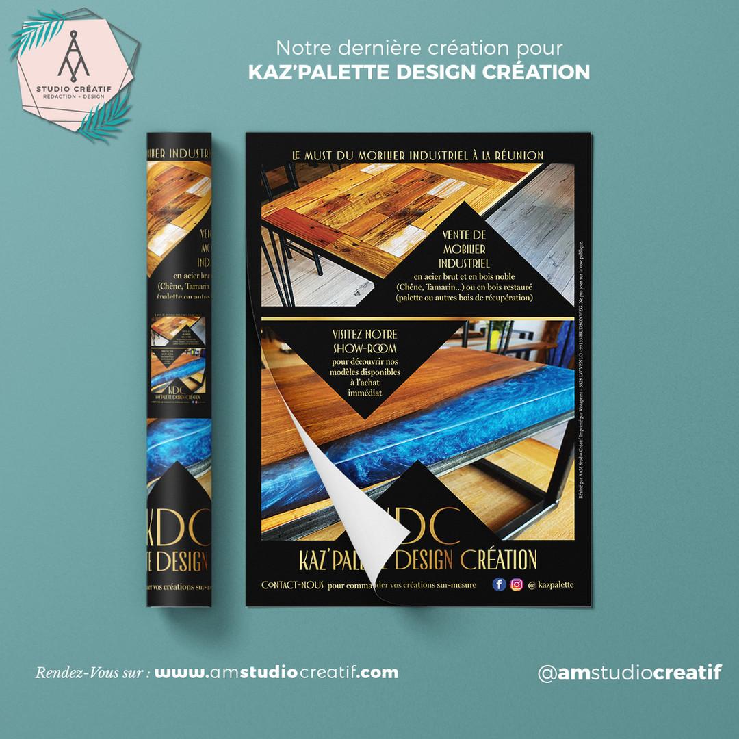 A+M _ Conception de flyer commercial