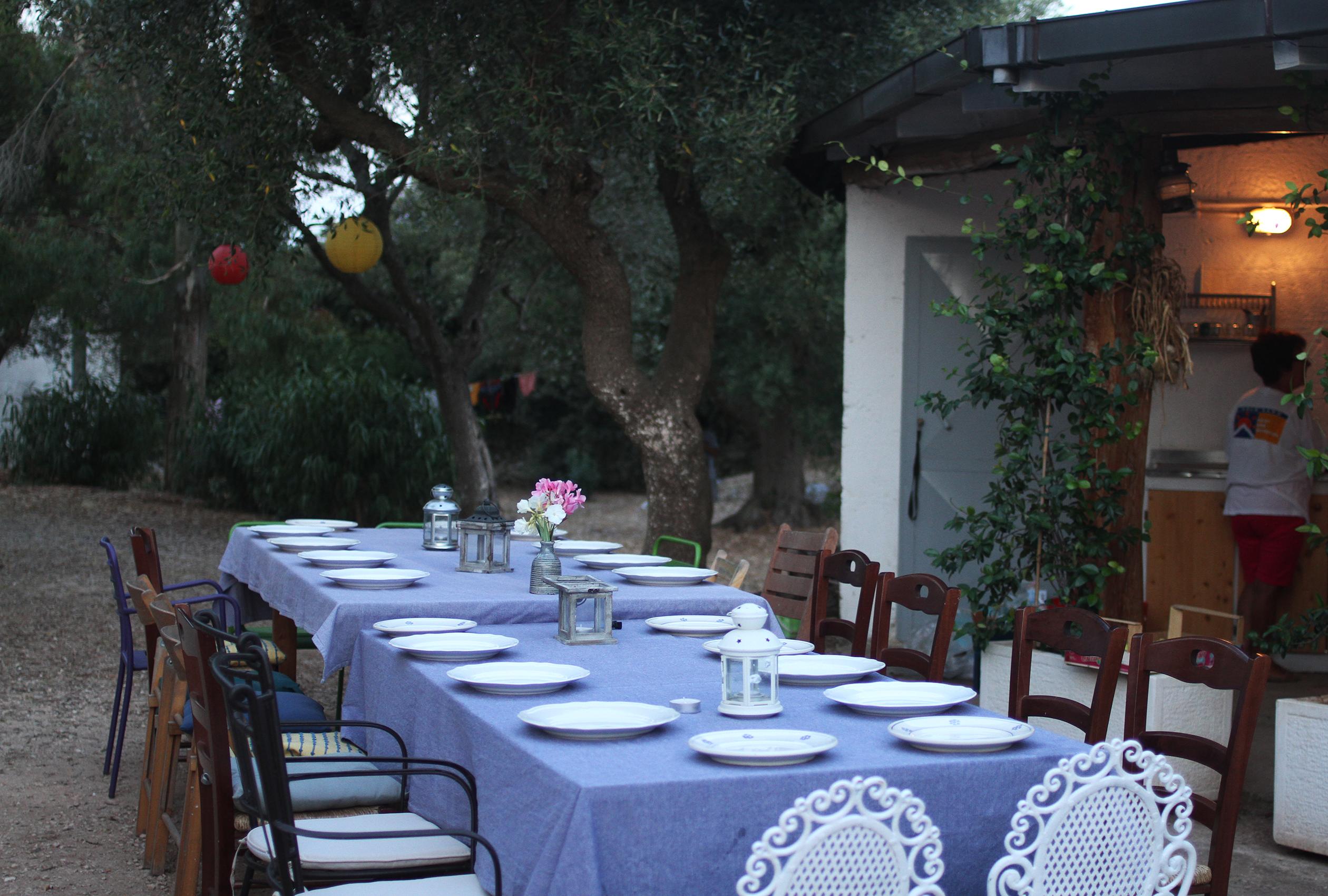 italienisches Abendessen