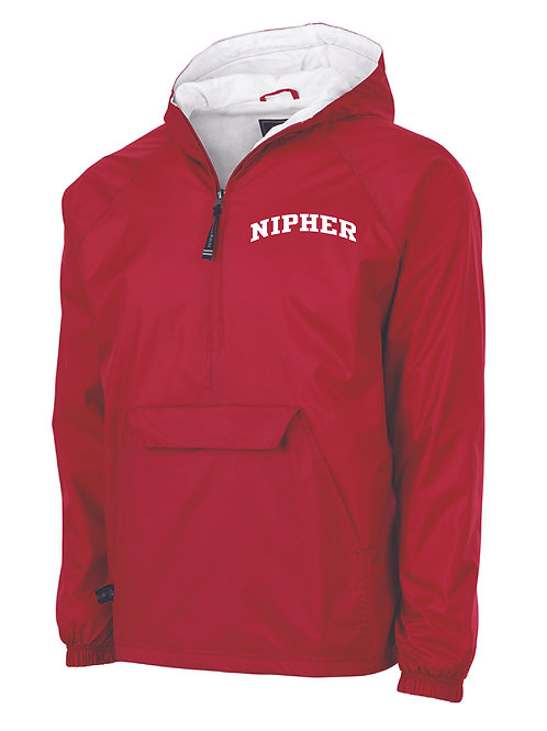 Nipher Red Classic Lined Pullover