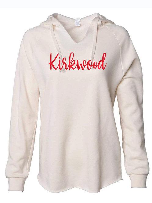 Women's Lightweight Bone Hooded Sweatshirt