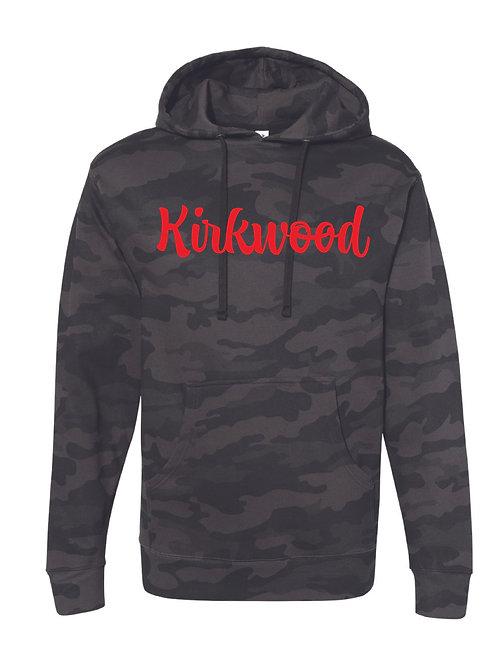 KIRKWOOD BLACK CAMO Independent Trading Co. - Midweight Hooded Sweatshirt