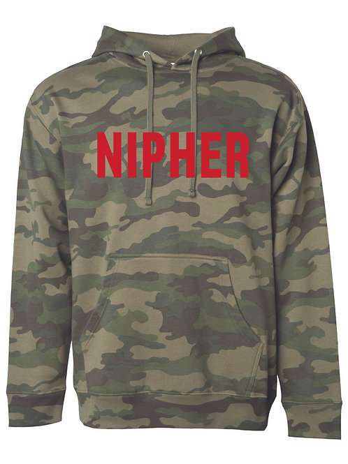 NIPHER FOREST CAMO Independent Trading Co. - Midweight Hooded Sweatshi