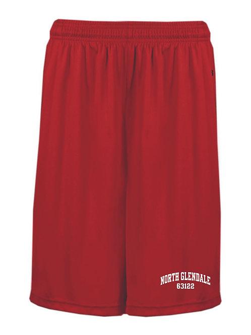 NG Red Boys Shorts