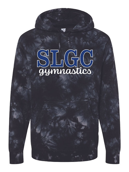 Xcel SLGC Black Tie Dye Hoodie - Adult sizes only
