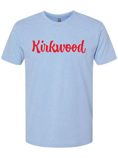 KIRKWOOD Blue Next Level - CVC Short Sleeve Crew