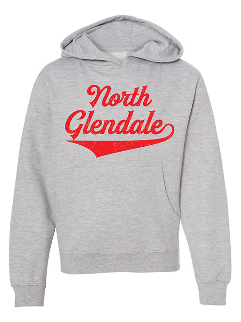 NORTH GLENDALE ASH Independent Trading Co. - Midweight Hooded Sweatshirt