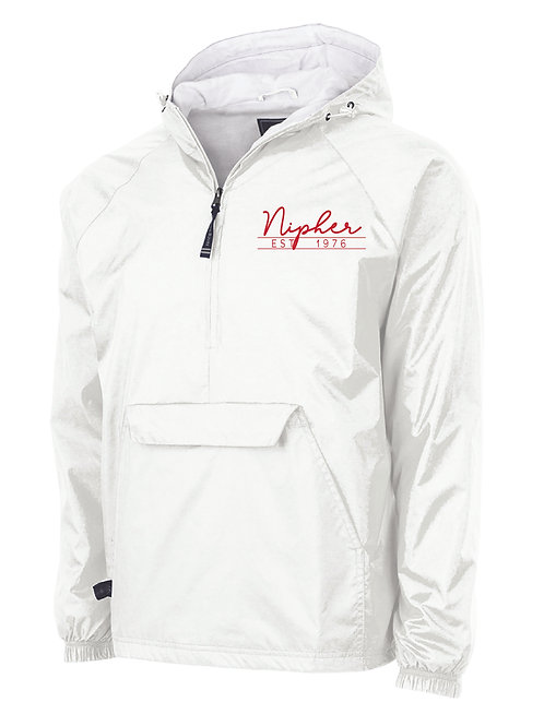 Nipher White Classic Lined Pullover