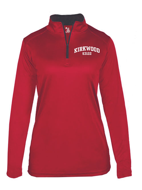 KIRKWOOD RED Women's Athletic 1/4 Zip