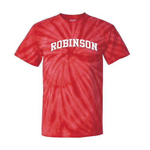 Robinson Red Pinwheel Tie-Dyed T-Shirt
