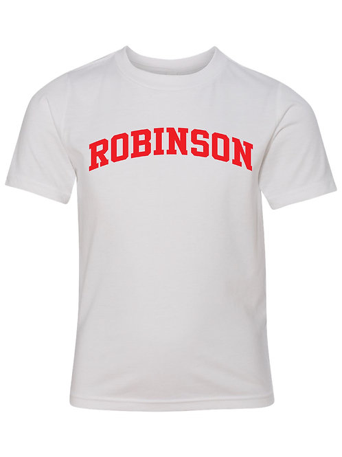 ROBINSON WHITE Next Level - CVC Short Sleeve Crew