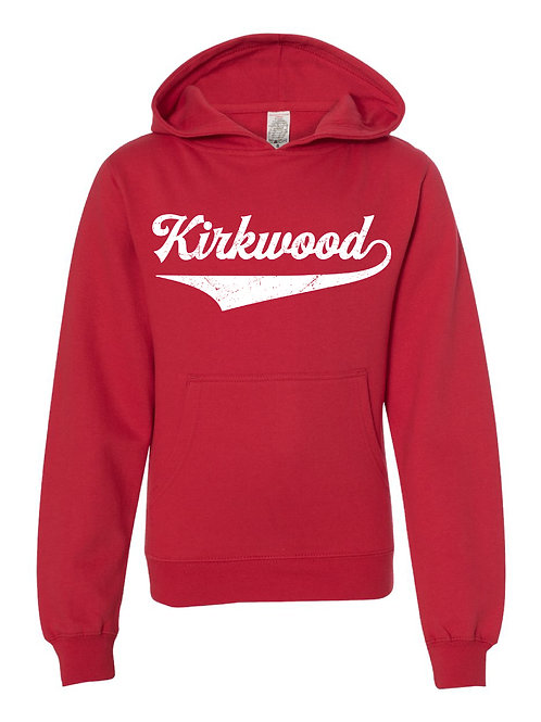 KIRKWOOD RED Independent Trading Co. - Midweight Hooded Sweatshirt