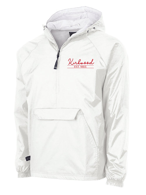 Kirkwood White Classic Lined Pullover