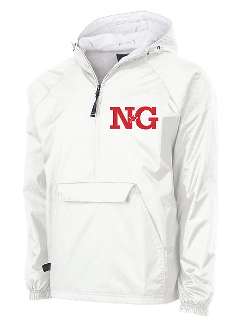 NG White Classic Lined Pullover