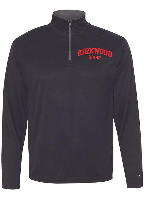 KIRKWOOD BLACK Men's Athletic 1/4 Zip