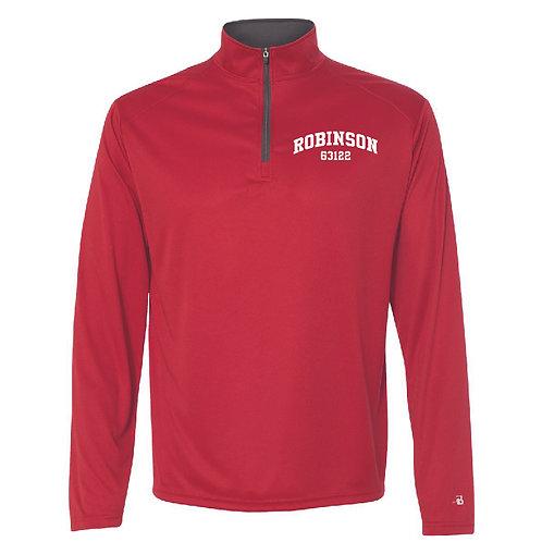 Robinson Red Men's/Boy's Athletic 1/4 Zip