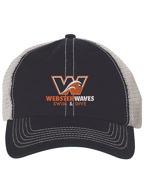 Webster Waves 47 Brand BlackTrucker Hat
