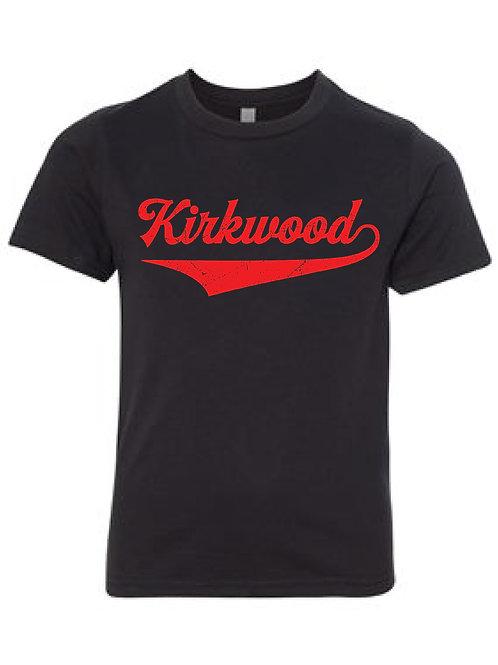 KIRKWOOD BLACK Next Level - CVC Short Sleeve Crew