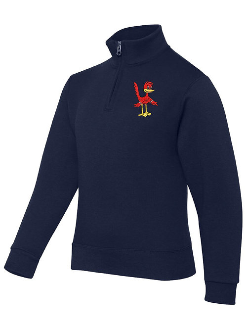 ROBINSON NAVY JERZEES - Nublend® Cadet Collar Quarter-Zip Embrodie