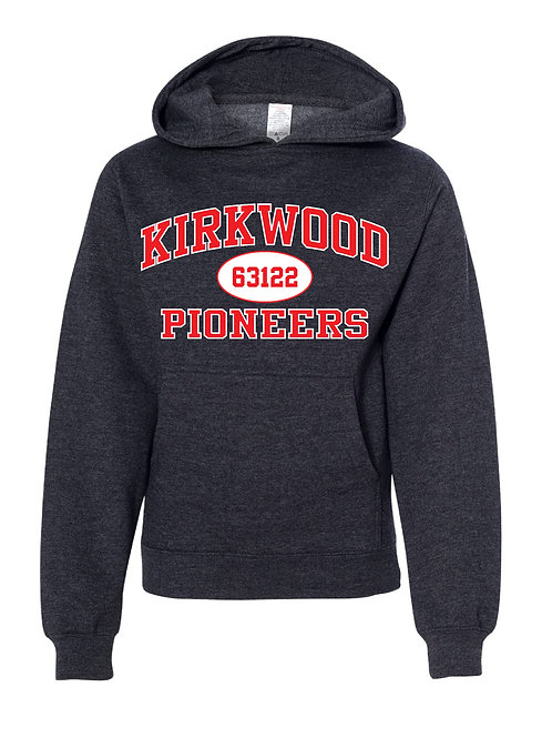 KIRKWOOD CHARCOAL GRAY Independent Trading Co. - Midweight Hooded Sweatshirt