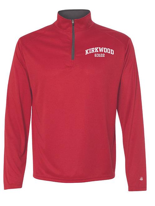 KIRKWOOD RED Men's Athletic 1/4 Zip