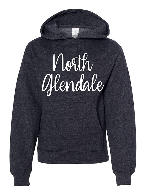NORTH GLENDALE CHARCOAL GRAY Independent Trading Co. - Midweight Hooded Sweats