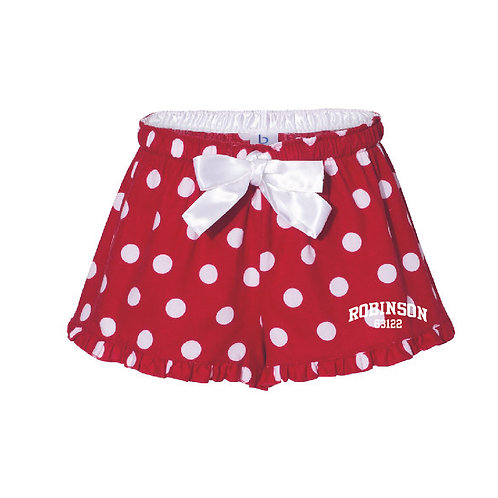Robinson Red Women's/Girl's Bitty Boxer