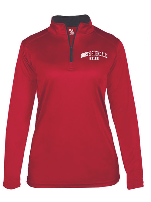 NG RED Women's/Girl's Athletic 1/4 Zip