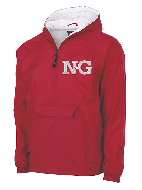 NG Red Classic Lined Pullover