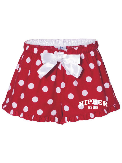 Nipher Red Women's Bitty Boxer