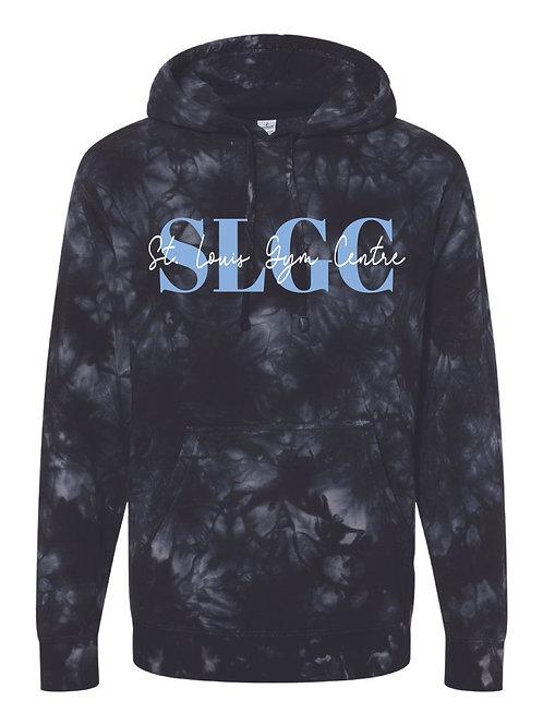 SLGC Black Tie Dye Hoodie - Adult sizes only