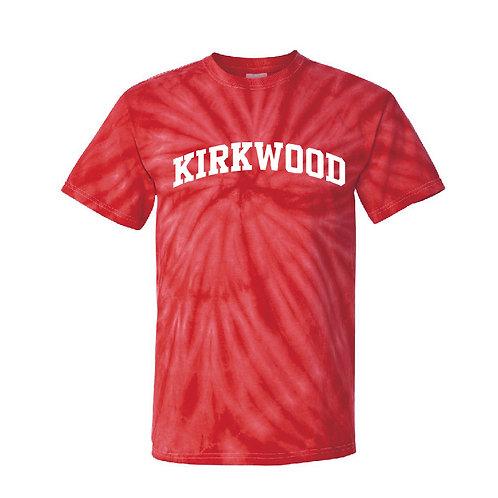 Kirkwood Red Pinwheel Tie-Dyed T-Shirt